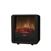 Minicube electric fire in black