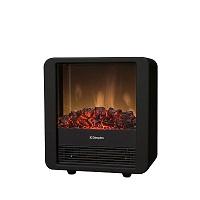 Minicube electric fire in black