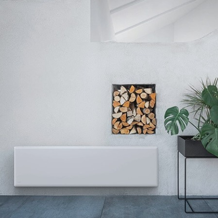 Nobo electric wall panel heaters modern installation