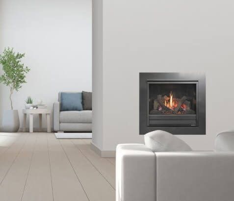 Heat and Glo 3X gas log fire