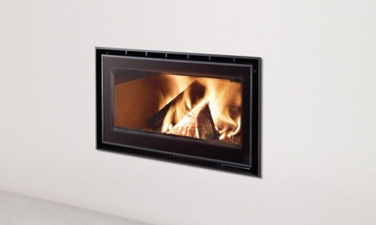 ADF insert wood heater