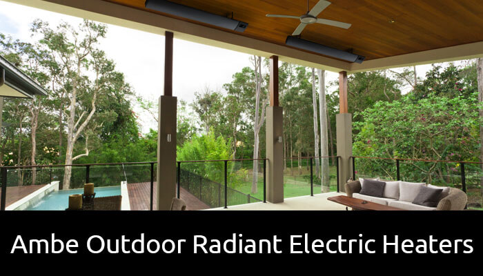 Ambe Outdoor Radiant Electric Heaters