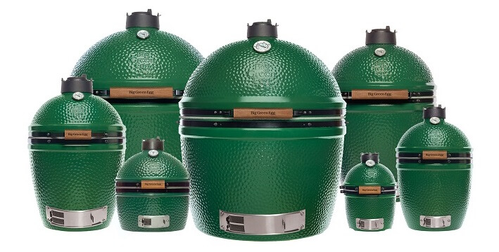 Big Green Egg - The ulimate seven