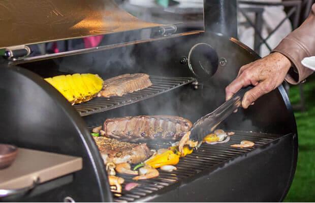 Bosston pellet grill smoker