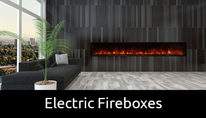 Electric fireboxes