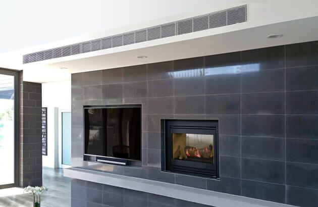 Heat and Glo ST-HVBI see through portrait gas fireplace