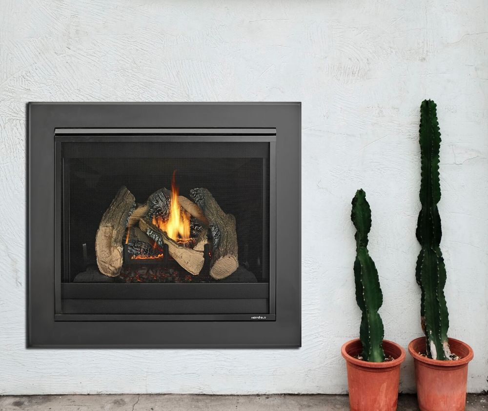 Heat and Glo 6X gas log fire