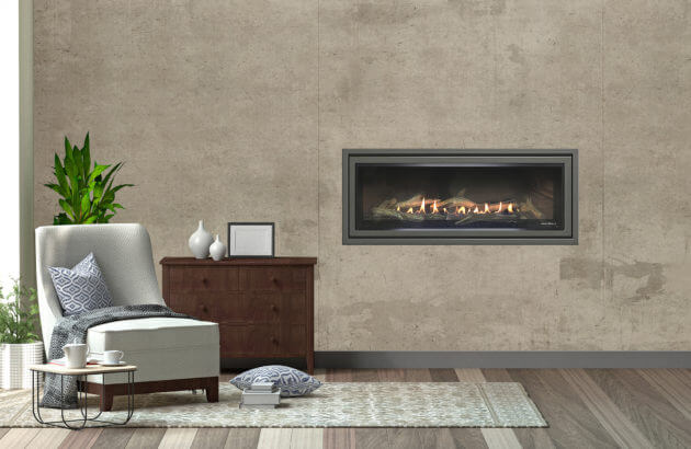 Heat and Glo SLR X gas fireplace