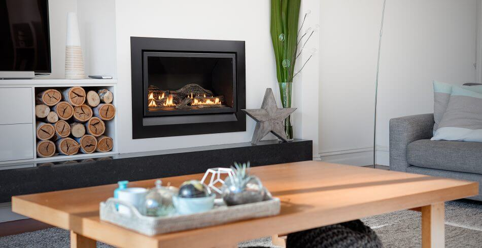 Inbuilt gas fireplaces