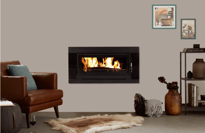Inbuilt wood heater