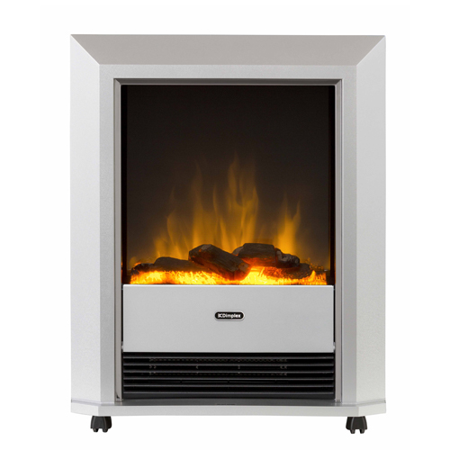 Dimplex Lee Silver portable electric fire