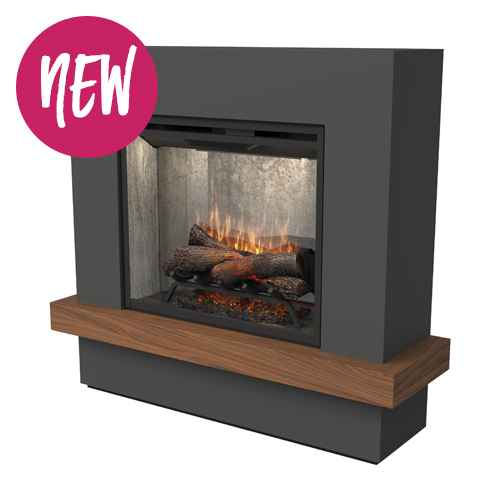 Dimplex Sherwood complete suite electric fireplace