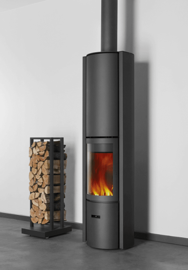 Stuv 30 High slow combustion fireplace