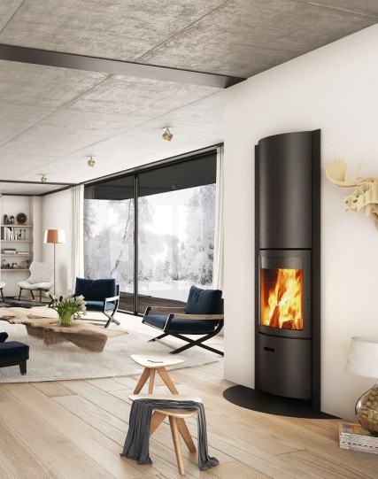 Stuv 30 Insert wood fireplace