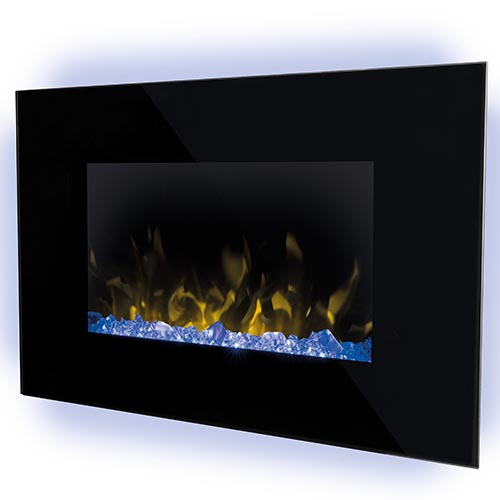 Dimplex Toluca wall mounted electric fireplace