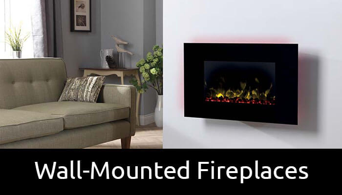 Wall-Mounted electric fireplaces