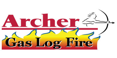 Archer Australian made gas log fires