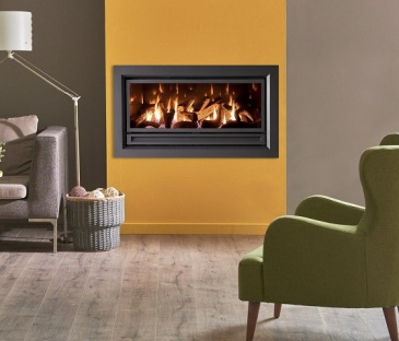 Archer IS1200 linear gas fireplace
