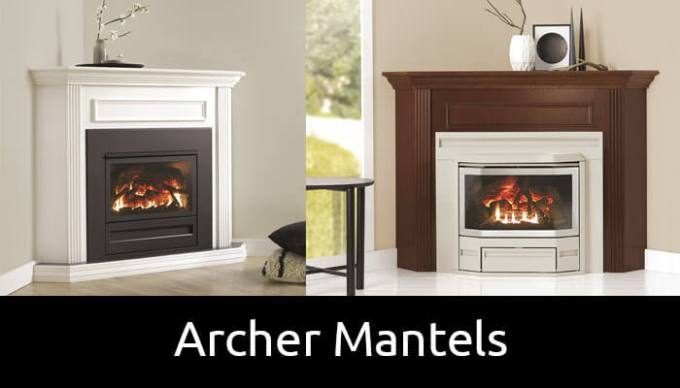 Archer mantel options for inbuilt gas fireplaces
