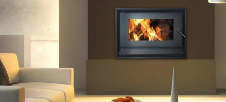 Blaze B520 inbuilt wood heater