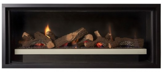 Cannon Latitude 1000 linear gas fireplace