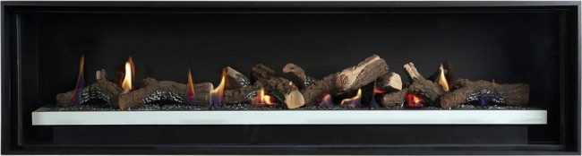 Cannon Latitude 1500 linear gas fireplace