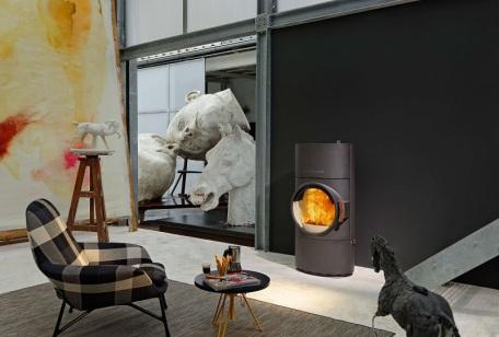 Austroflamm Clow Xtra wood heater