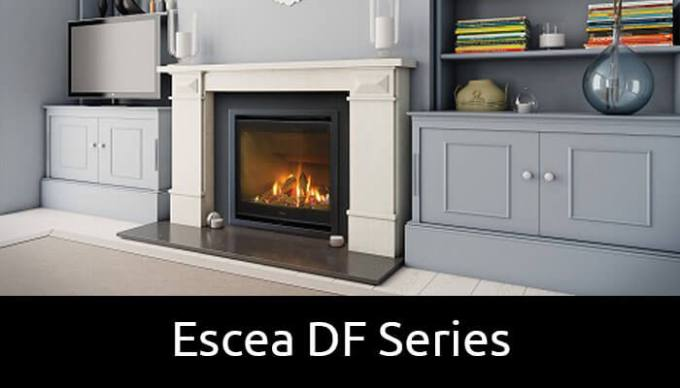 Escea DF Series gas fireplaces