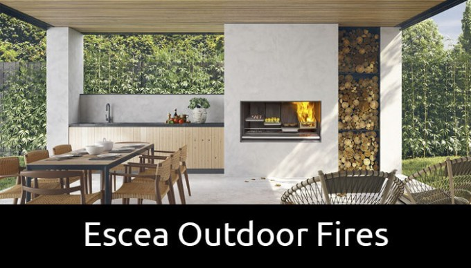 Escea outdoor fires