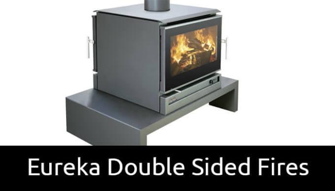 Eureka double sided wood heaters