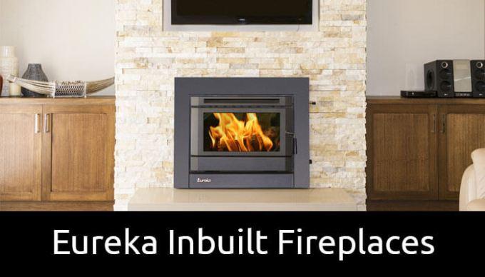 Eureka inbuilt wood heaters