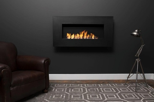 Icon Nero 1150 Wall Fireplace