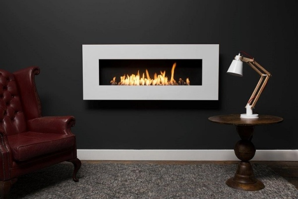 Icon Nero 1450 Wall Fireplace