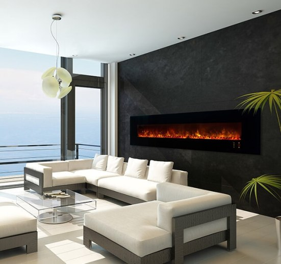 Modern Flames Ambiance CLX Deluxe 2.5m electric fireplace