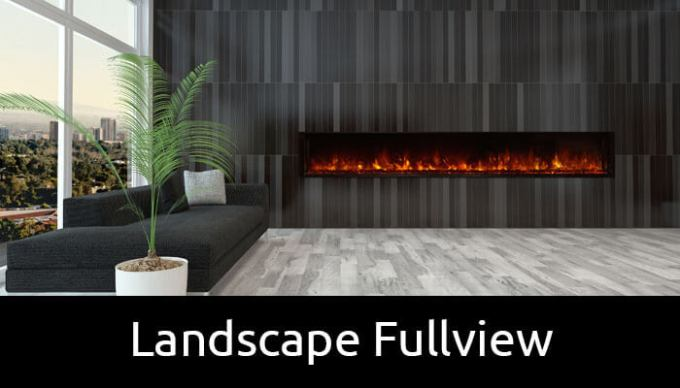 Modern Flames landscape fullview electric fireplaces