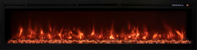 Modern Flames Spectrum Series 74 inch electric fireplace