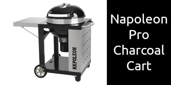 Napoleon Pro Charcoal Cart