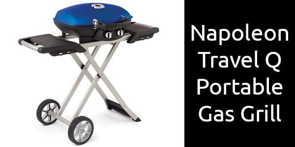 Napoleon Travel Q portable gas grill blue