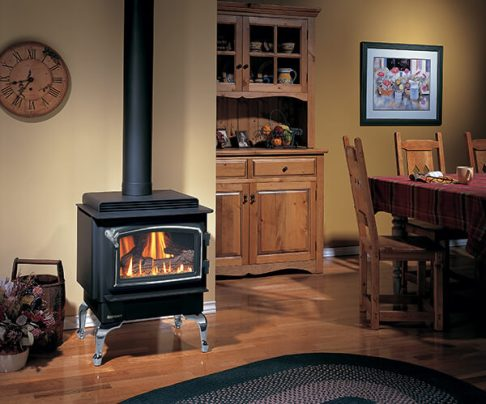 Regency F33 freestanding gas fireplace