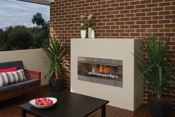 Regency HZO42 outdoor gas fireplace