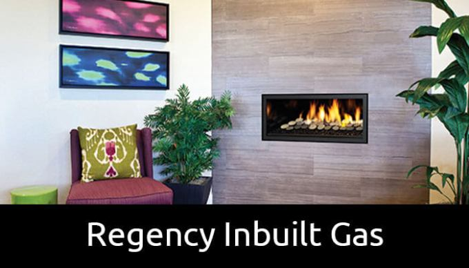 Regency inbuilt gas fireplaces