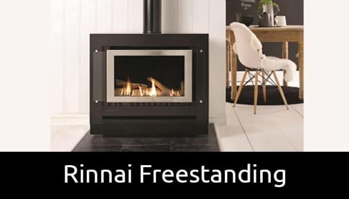 Rinnai Freestanding Gas Fireplaces