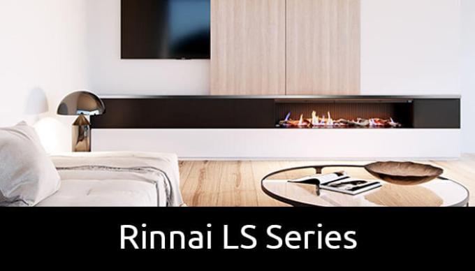 Rinnai LS Series Gas Fireplaces