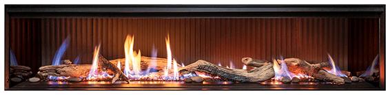 Rinnai LS1500 single sided gas fireplace