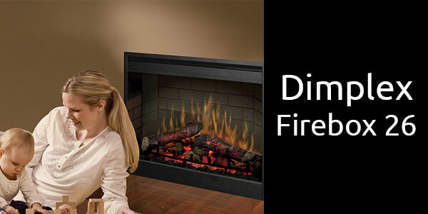 Dimplex LED firebox 26 inch