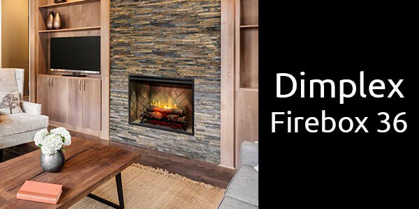 Dimplex Revillusion firebox 36 inch