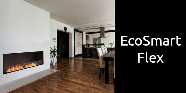 EcoSmart Flex bioethanol fireplace