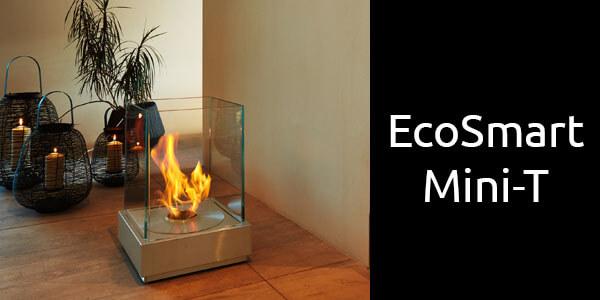 EcoSmart Mini-T portable bioethanol fire