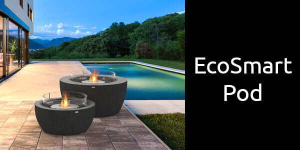 EcoSmart Pod fire bowls