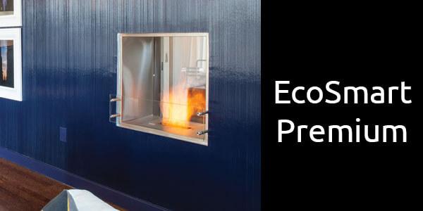 EcoSmart Premium double sided bioethanol fireplace